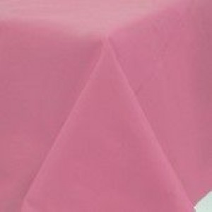 A Pretty Pink Table Cover