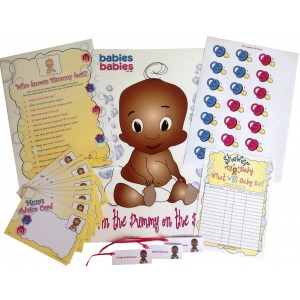 Ethnic Baby Shower Games Pack