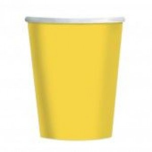 Sunshine Yellow Cups