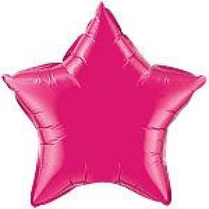 Pink Star Foil Balloon