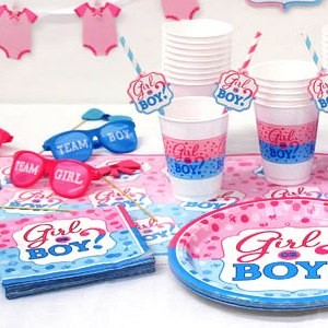 Gender Reveal Complete Party Pack