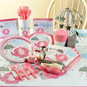 Girl Umbrellaphants Complete Party Pack