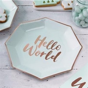 Hello World Plates