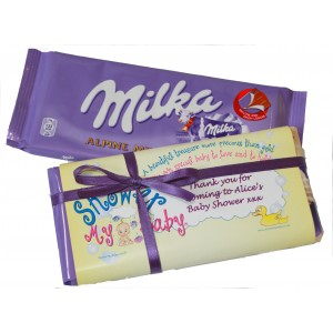 Personalised Chocolate Bar Invitation