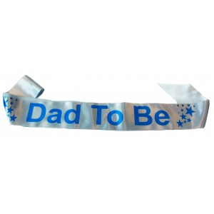 dad to be satin sash