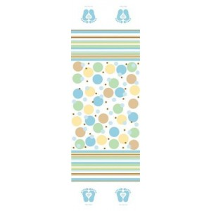 A Blue Tiny Toes Large Tablecover
