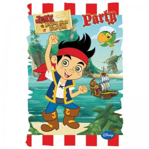 Jake Yo Ho Party Invites