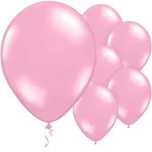baby pink latex balloons