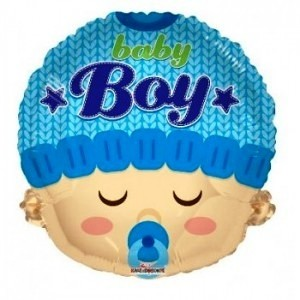 baby boy foil