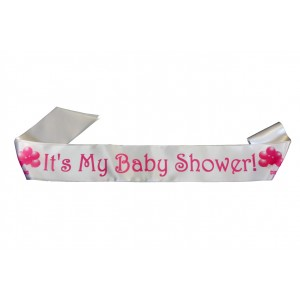 It's My Baby Shower Satin Sash