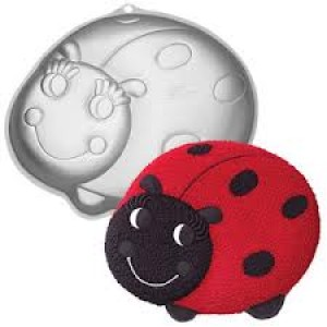 A Ladybird Shaped Cake Tin