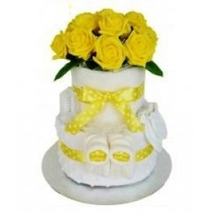 Lemon Nappy Cake
