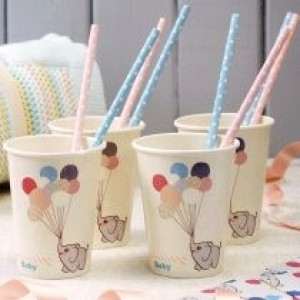 Baby Ele's Baby Shower Cups