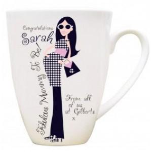 A Fabulous Mummy To Be Personalised Mug