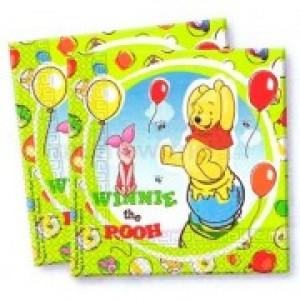 Winnie The Pooh Napkins (20pk)