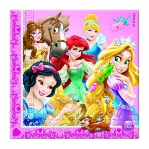 Disney Princesses and Animals Napkins