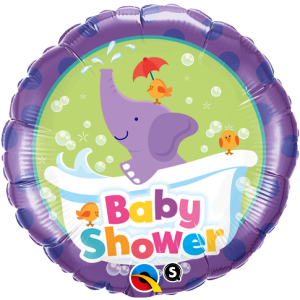 Elephant Baby Shower Foil Balloon