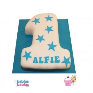 boy first birthday cake