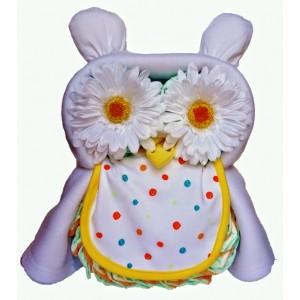 Owl Always Love You Nappy Cake