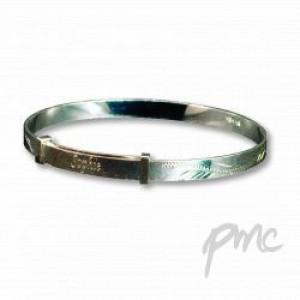 A Sterling Silver Expanding Bracelet