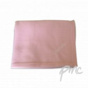 A Pink Personalised Baby Blanket