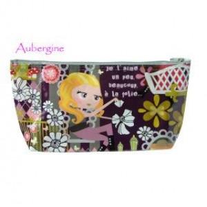 Aubergine Make-Up Bag