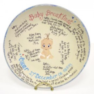 Personalised Baby Plate