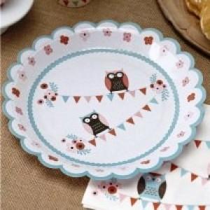 Little Hoots Plates