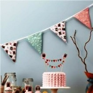Little Hoots Fabric Bunting