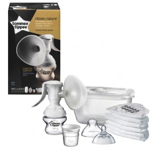 Closer To Nature Manual Breast Pump