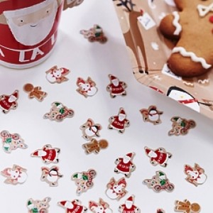 Santa and Friends Table Confetti