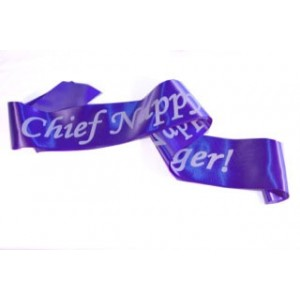 Chief Nappy Changer Sash
