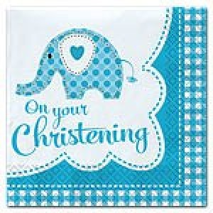 SWEET BABY ELEPHANT BOY NAPKINS