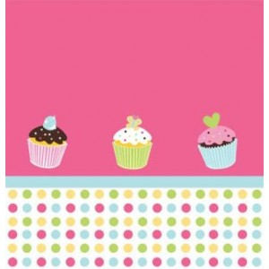 A Pack of 16 Sweet Treats Napkins