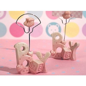 A Baby Girl Place Card/Photo Holder
