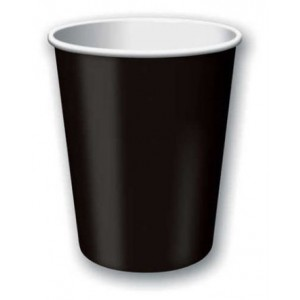 Pack of 24 Black Hot/Cold Cups