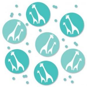 A Blue Wild Safari Pack of Confetti