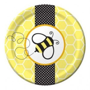 A Buzzie Bee Pack of Small plates