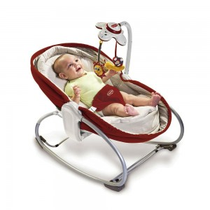 TINY LOVE 3-IN-1 ROCKER NAPPER RED