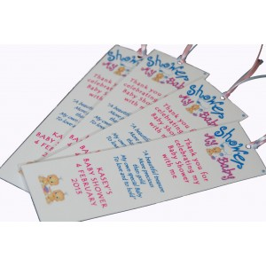 Personalised Bookmark - Twin Babies