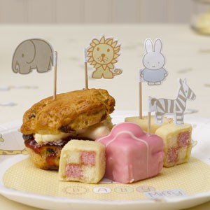 baby miffy cake picks