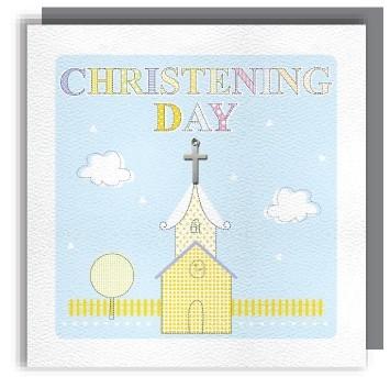 Christening day greeting card m4hsunfo