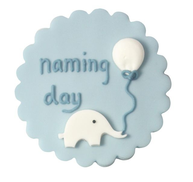 Baby Boy Naming Day Cake Decoration