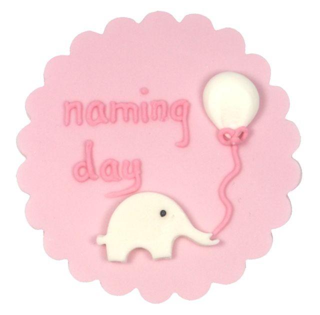 Cake Decorating For Baby Girl : Baby Girl Naming Day Cake Decoration
