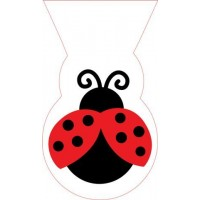 A Ladybird Shaped Cello Party Bag