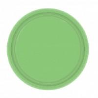 Kiwi Green Plates (8)