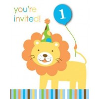 Sweet at One Boy Invitation