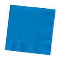 Bright Blue Napkins (25)