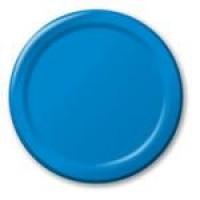 Bright Blue Plates (24)
