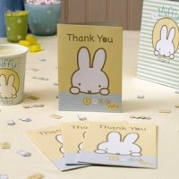 Baby Miffy Pack of Thank You Cards